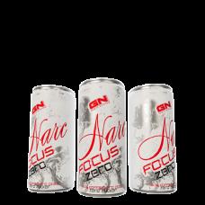 GN, Narc Focus Zero Energy Drink, 24 x 250ml