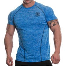 Golds Gym, Raglan T-Shirt -Blue Marlin
