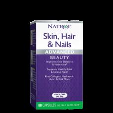 Natrol, Skin, Hair & Nails, 60 Kapseln