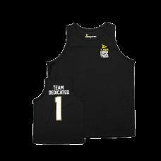 "Dedicated, Basketball Tank Top ""Team Dedicated"""