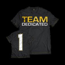 """Dedicated, T-Shirt """"Team Dedicated"""""""