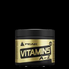 PEAK, Vitamins A-Z, 180 Tabletten