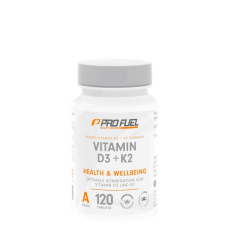 ProFuel, Vitamin D3 + K2, 120 Tabletten