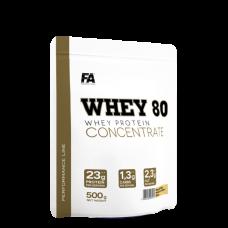 FA Nutrition, Whey 80, 500g