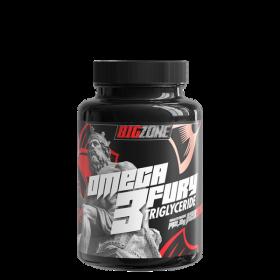 Big Zone, Omega 3 Fury Triglyceride, 120 Kapseln