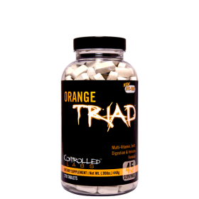 Controlled Labs, Orange Triad / Daily Multivitamin, 270 Tabletten
